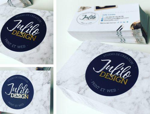 Carte de visite Julilo Design