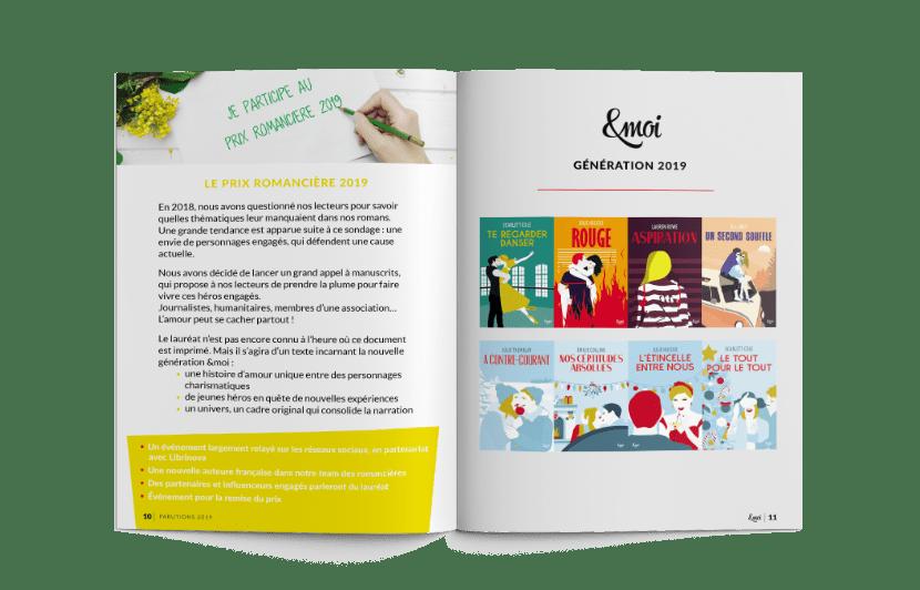 Plaquette Nouvelle charte éditions &moi