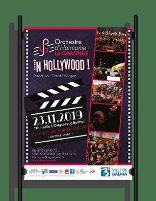 Harmonie La Garonne Affiche concert