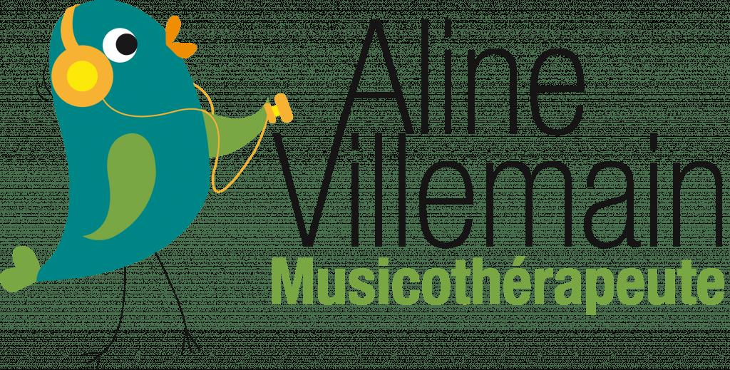 Logo Aline Villemain musicothérapute