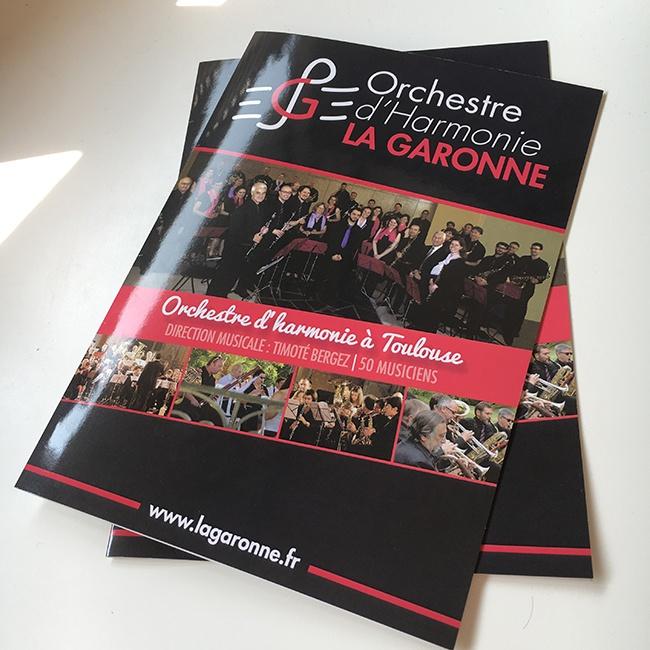 Harmonie La Garonne Plaquette