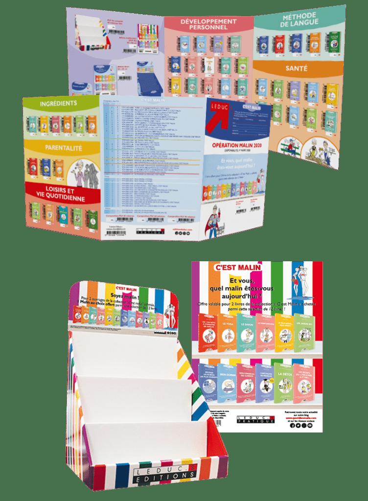 Opération commerciale C'est Malin 2019-2020 multicolore