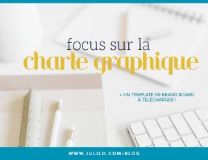 Focus sur la charte graphique