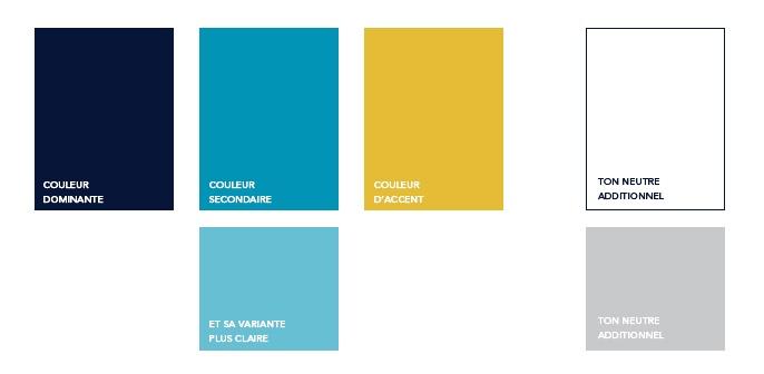 Exemple palette de couleur