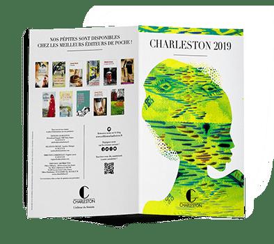 Plaquette littéraire Charleston 2019