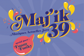 Identité visuelle du projet musical Maj'ik 39