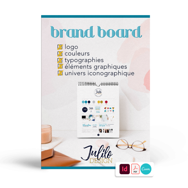 Ressource graphique : brand board